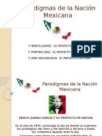 Paradigmas de La Nación Mexicana