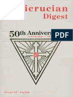 Rosicrucian Digest, November 1977 50th Anniversary