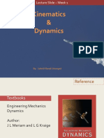 Kinematics & Dynamics - Week 1