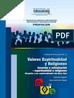 UF15 Valores Espiritualidad y Religiones 2016