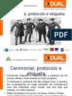 Powerpoint Protocolo e Etiqueta