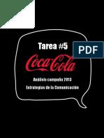 Coca Cola-Análisis Campaña 2013-Estrategias de La Comunicación