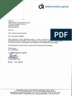 Investor Communication [Company Update]