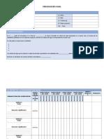 Prog. Anual- Unidad -Sesión Modelos