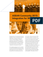 IBON Policy Brief on ASEAN Integration