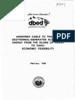 Hawaii UnderseaCableEconomicFeasibility