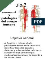 Modulo 3 Anatomia y Patologias Del Cuerpo Humano