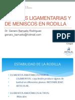 Sem 3 Lesiones Ligamentarias y de Meniscos en Rodilla