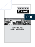 Criminología Política Criminal