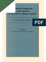 Alvaro Molina Enriquez - Legislacion Comparada - Teoria General de Los Salarios Mínimos