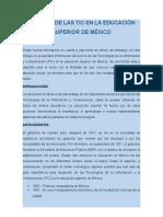 El Papel de Las TIC en La Educación Superior de México