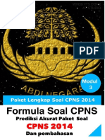 Prediksi Akurat Soal CPNS 2014 Lengkap Dengan Pembahasannya