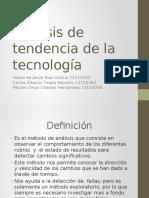 Análisis de Tendencia de La Tecnología