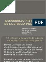 Desarrollo Histórico de La Ciencia Política i
