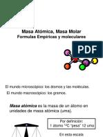 02 Masa Atómica, Masa Molar, F