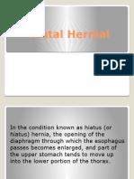Hiatal Hernial