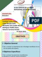 Fisiología Mandibular (1)