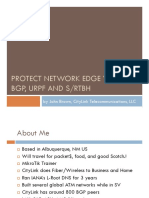 Protecting the Edge of Your Network With Urpf