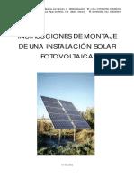 Montaje de Una Instalac Solar PV