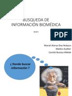 Busqueda de Información Biomédica