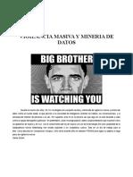 Vigilancia Masiva y Mineria de Datos Barrett Brown