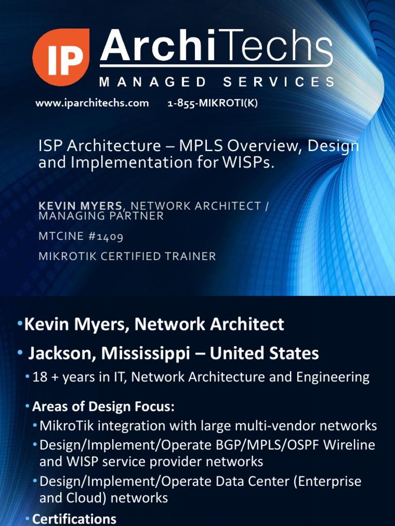 Advanced Mpls Design And Implementation Pdf