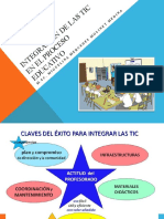Integración de Las Tic en El Proceso Educativo
