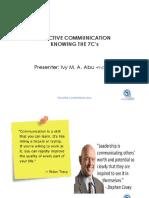 Effective Communication - Dr. Abu Final