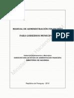 Manual de Administracion Financiera Para Gobiernos Municipales