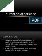El Espacio Geografico