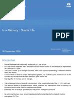 12c in-Memory Oracle