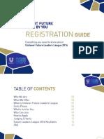 FLL 2016 - Registration Guide - Final Design