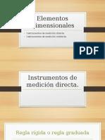 Instrumentos de Medición Directa e Indirecta