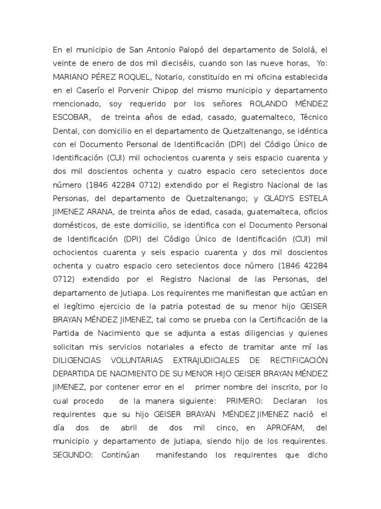 Acta Notarial de Rectificacion de Partida de Nacimiento 6-1[1]