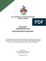 Undergraduate Students Online Registration Guidelines