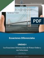 Unidad 2. Las Ecuaciones Diferenciales Primer Orden y Sus Soluciones (1)