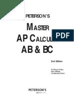 Peterson's Master AP Calculus