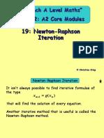 19 Newton-Raphson Iteration Copy
