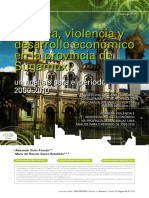 Pobreza, Violencia y Desarrollo Económico en La Provincia de Sugamuxi  / Alexander Cotte Poveda & María del Rosario Castro