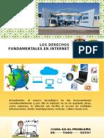 Los Derechos Fundamentales en Internet Diapo