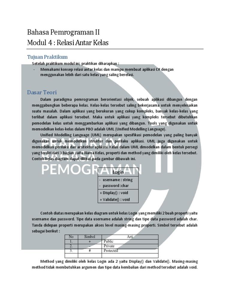 Modul relasi antar kelaspdf ccuart Choice Image