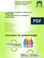 Fases de la investigación epidemiologica