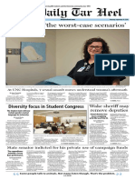 The Daily Tar Heel for Sept. 29, 2016