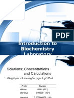 Introduction to Biochemistry Laboratory 2