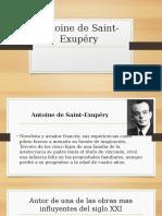 Antoine de Saint-Exupéry Presentacion