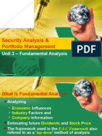 Fundamental Analysis