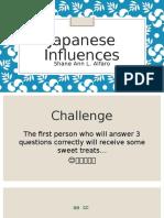 Japanese Influences