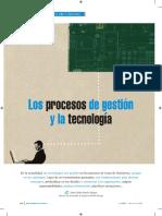 Los Procesos de Gestión y La Tecnología