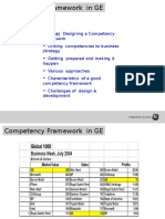 Sample of Competency Framework in GE