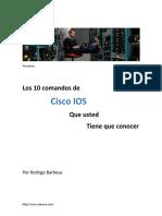 Los 10 comandos de Cisco IOS que usted tiene que conocer.pdf